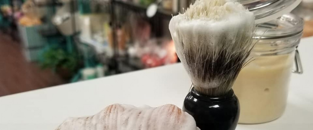NEW! Creamy shave soap